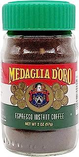 Medaglia D`Oro Instant Espresso Coffee, 2 Ounces