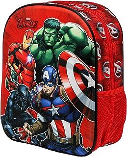 Los Vengadores Strength-Mochila 3D, Multicolor (Pequeña)