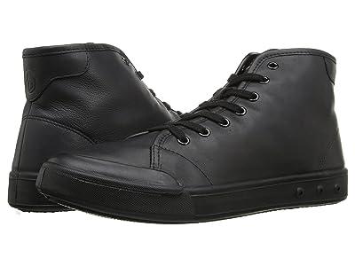 rag & bone Standard Issue Leather High Top (Black) Men