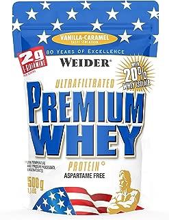 Weider Nutrition Premium Whey Vanilla Caramel 500g