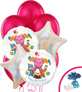 Pocoyo Childrens Birthday Party Supplies - Balloon Bouquet Decoration