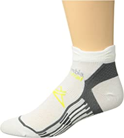 Columbia Trail Running Nilit Breeze Lightweight Low Cut Socks 1-Pack