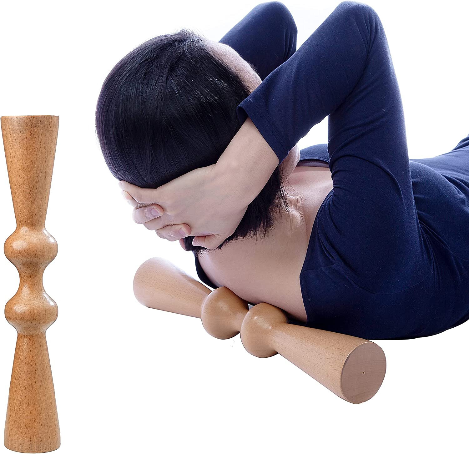 Hovom Wood Muscle Release Tool Back Ranking integrated 1st place High order Roller ma Massager