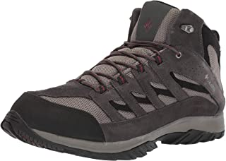 Columbia Mens 1765382 CrestwoodTM Mid Waterproof Wide