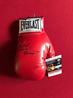 george foreman autographed boxing glove