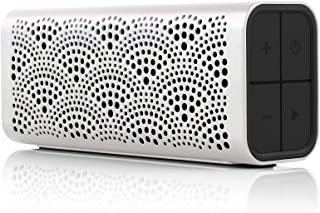 Braven BLUXABP BRAVEN LUX Portable Wireless Bluetooth Speaker [12 Hr Playtime][Water Resistant] Built-in 1400 mAh Power Bank Charger - Pearl