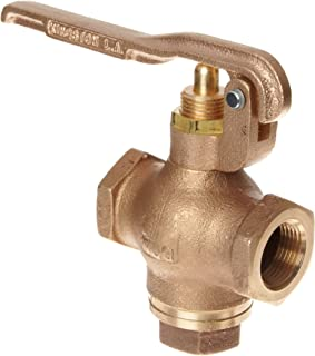 Kingston 305B Series Brass Quick Opening Flow Control Valve, Squeeze Lever, 3/4