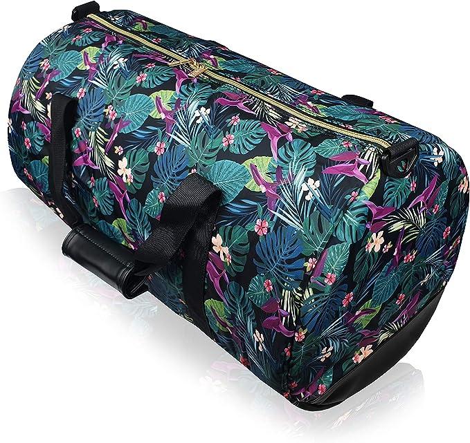 Negro Quenchy London QL415M Pi/ñas negras ideal para festivales y vacaciones 5/bolsillos con cremallera Ri/ñonera de viaje en lona para contornos de cintura de hasta 120/cm - QL4172K