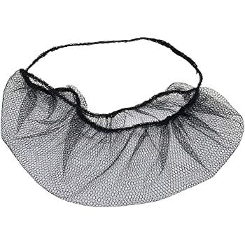 """1000 Pieces Superior Shield-Safety Nylon Mesh Hairnet 18/"""" Length Brown 10 Bags"""