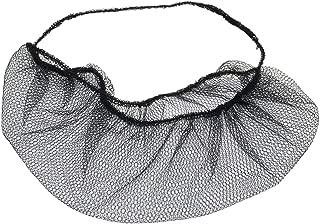 300 pieces Disposable Nylon Honeycomb Royal Beard Protector nets, Latex Free. (Black)