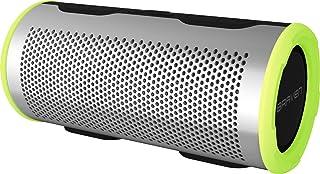 Braven Stryde 360 Degree Sound [2500 mAh] Waterproof Bluetooth Speaker - Silver/Green