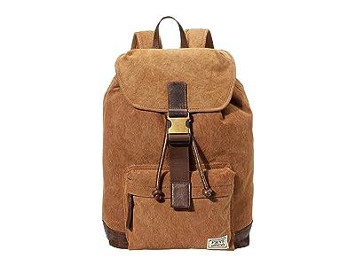 FRYE AND CO. Jackson Backpack (Tan) Backpack Bags