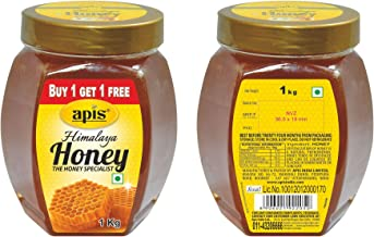Apis Himalaya Honey, 1kg (Buy 1 Get 1 Free)