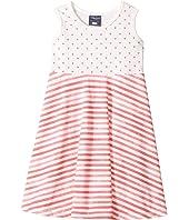 Toobydoo - Heart Skater Dress (Toddler/Little Kids/Big Kids)