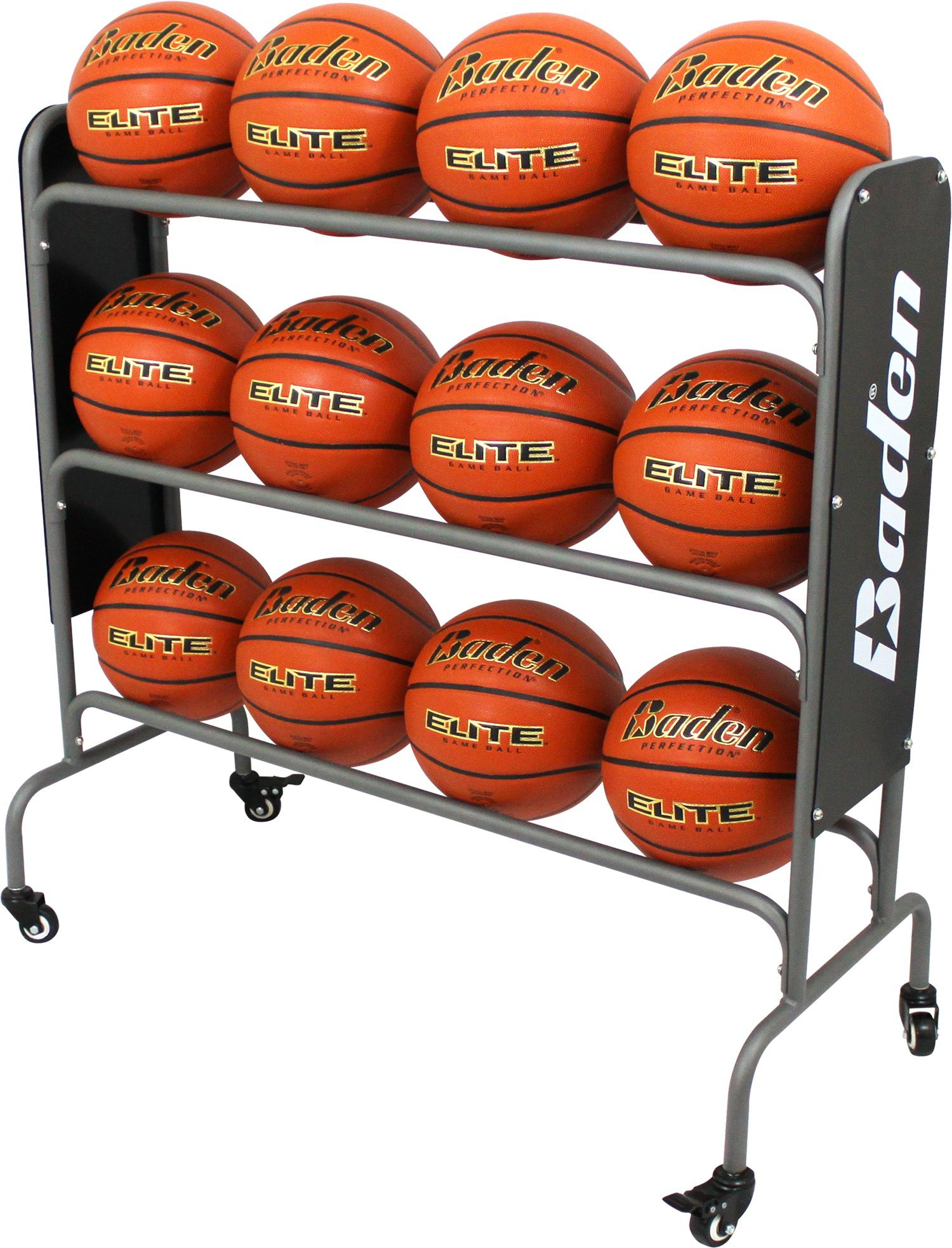 Baden Steel Basketball Rack 12 Balls