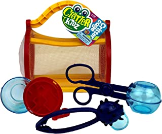 JA-RU Critter Cage Bug Catcher Kit for Kids (1 Pack) Great Bug Toy Box I Comes with 1 Collectable Bouncy Ball   Item #5419-1p