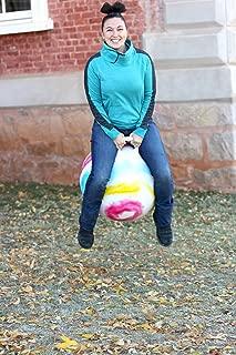 "WALIKI Hopper Ball for Adults 13-101   Hippity Hop   Jumping Ball   Sit & Bounce   Tie-dye 29"""
