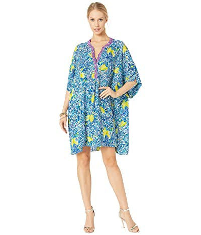 Lilly Pulitzer Leland Cover-Up (Resort White Zest For Life Engineered Cover-Up Fluid) Women