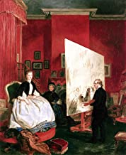 John Ballantyne Frith in His Studio Painting Alexandra, Princess of Wales, for The Marriage of The Price of Wales Private Collection 30
