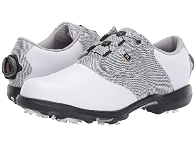 FootJoy DryJoys (White/Black/White) Women