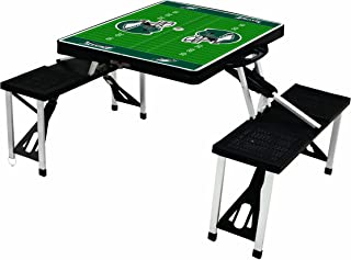 NFL Philadelphia Eagles Football Field Design Portable Folding Table/Seats, Black