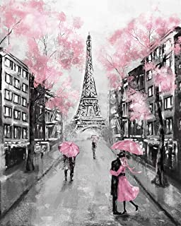 paris painting wallpaper