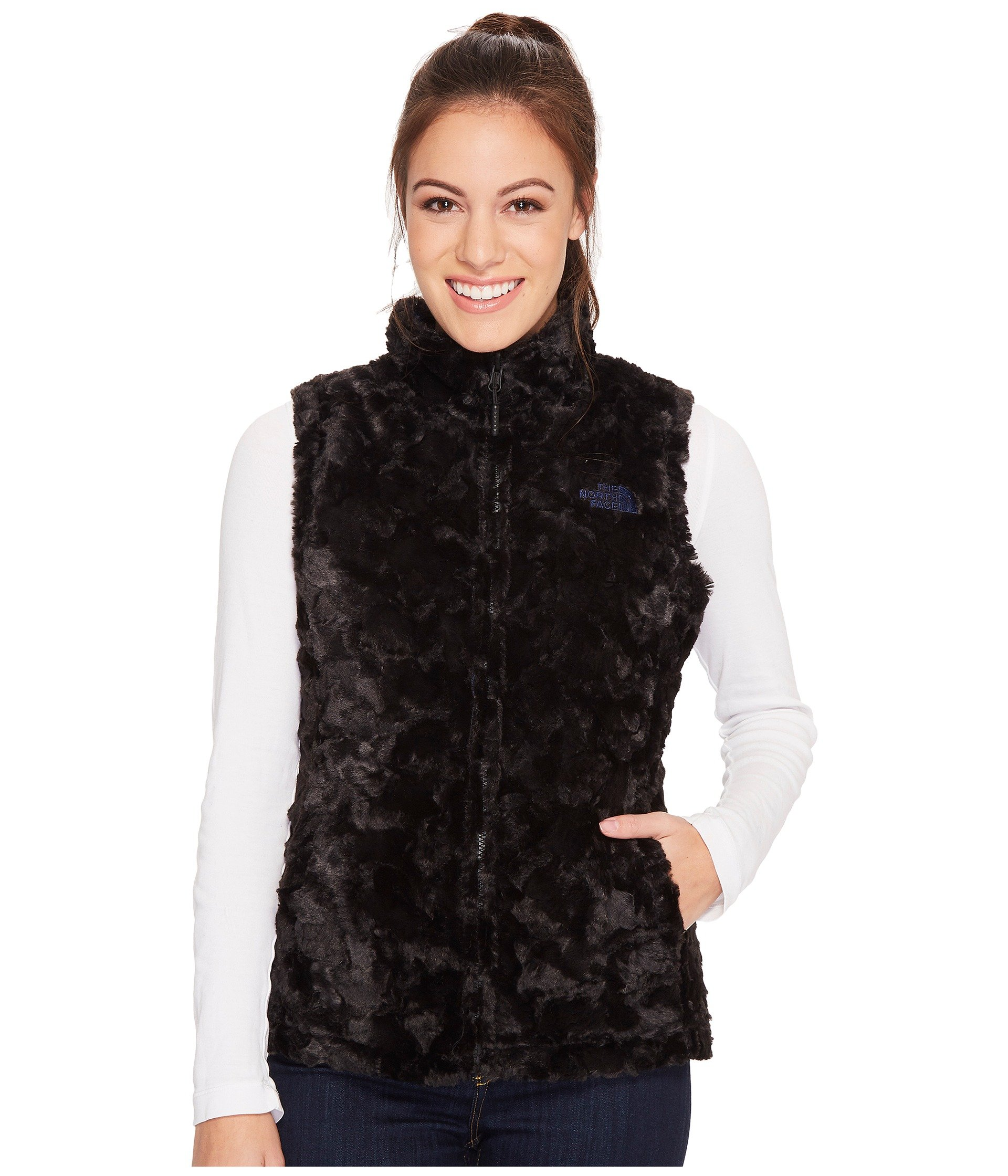 Blue Face North Swirl Mossbud Vest The Brit 5Ox7Yw4nq