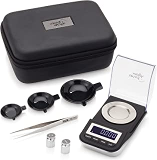 Smart Weigh Premium High Precision Digital Milligram Scale with Case, Tweezers,..