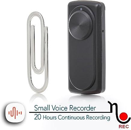 Mini grabadora de voz portátil para clases, reuniones; Compatible con USB PC y Mac