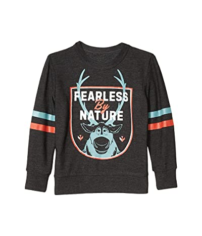 Chaser Kids Disney Frozen Fearless by Nature Cozy Knit Pullover Sweater (Toddler/Little Kids) (Black) Boy