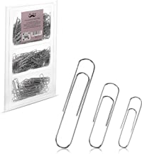 Mr. Pen- Paper Clips, 450 Pack, Silver, Paper Clips Assorted Sizes, Paperclips, Paper Clip, Large Paper Clips, Clips for P...