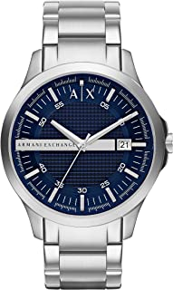 Armani Exchange AX2132 Silver-Tone Stainless Steel Watch