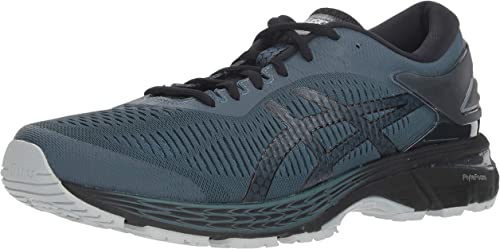 ASICS Men's Gel-Kayano 25 Running chaussures, Ironclad noir, 12 D(M) US