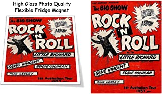 Little Richard Eddie Cochran Gene Vincent 1957 Concert Poster 3