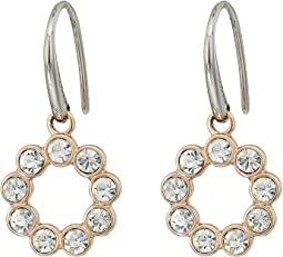 Glitz Ring Drop Earrings