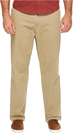 Dockers - Big & Tall Washed Khaki Flat Front