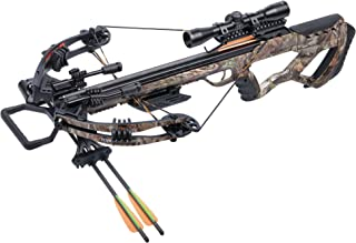 *CenterPoint Tormentor Whisper AXCTW185CK Compound Crossbow with 4x32 Scope, RCD