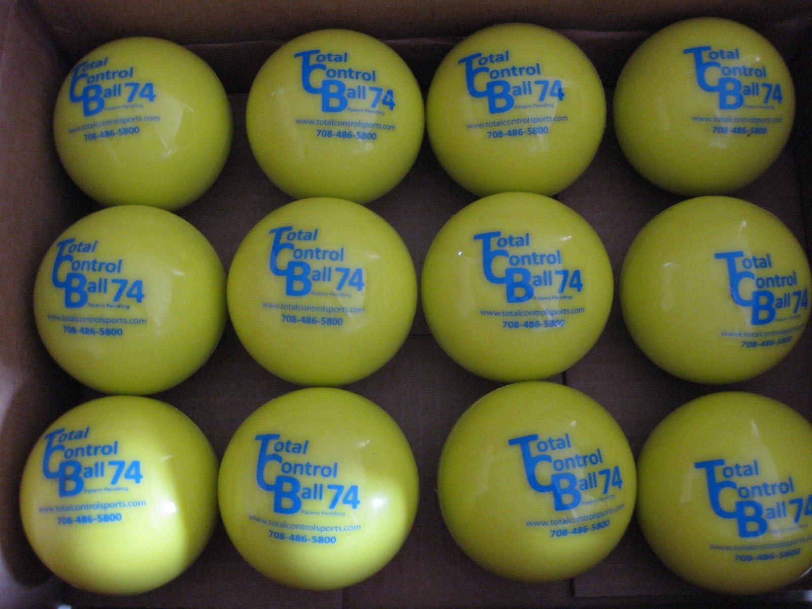 6 Packs Practice Softballs Heavy Balls for Cyfie Weighted Hitting Batting Balls