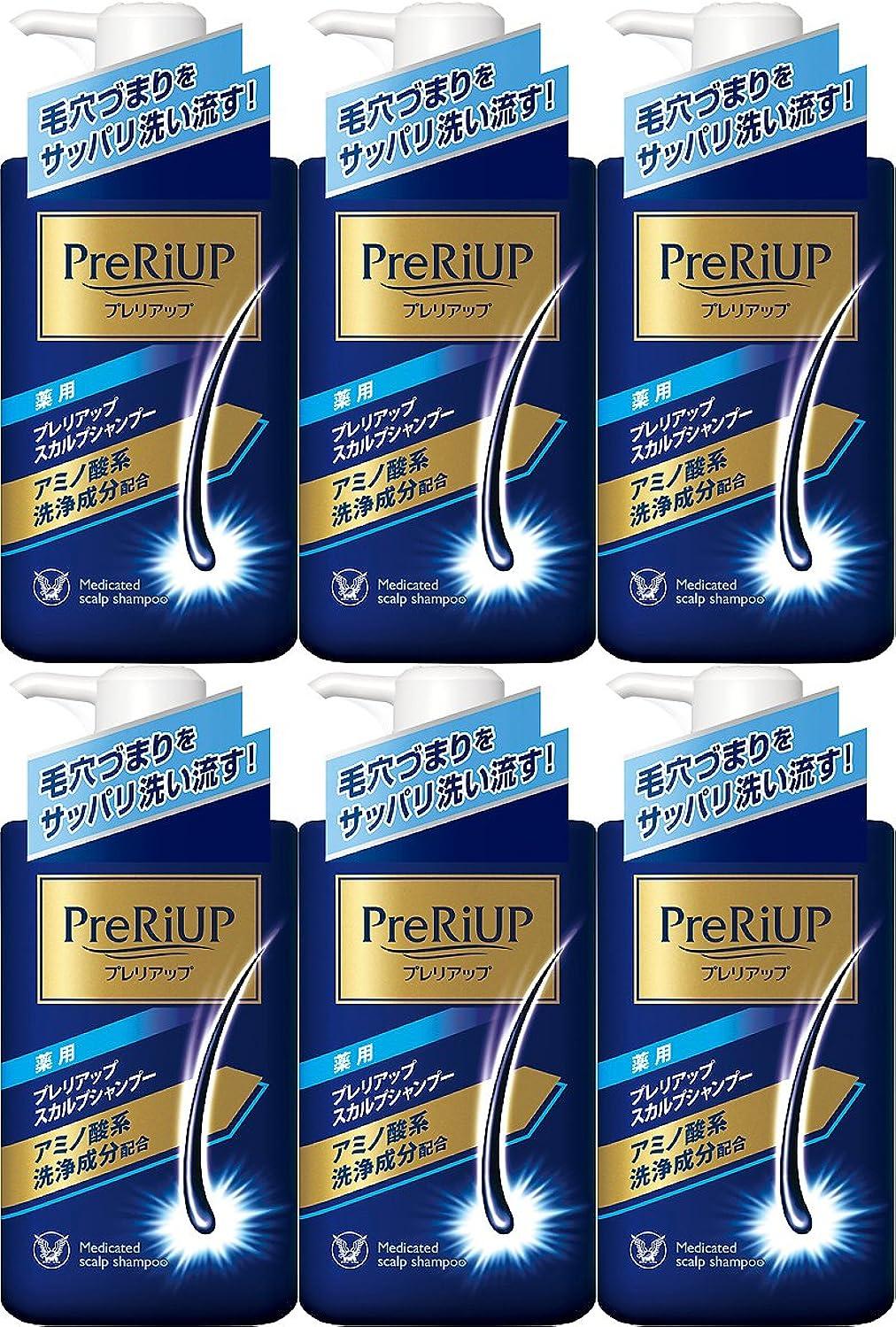 公爵ピット戦艦【6個セット】薬用プレリアップ スカルプシャンプー 400ml