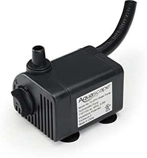 Aquascape 91023 742575910239 Submersible 70 GPH Water Pump for Fountains, Waterfalls, AQU