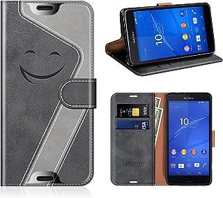 1075d837039 MOBESV Smiley Funda Cartera Sony Xperia Z3 Compact Magnético, Funda Cuero  Movil Sony Xperia Z3
