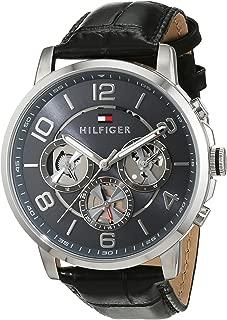 Reloj para hombre Tommy Hilfiger 1791289, mecanismo de cuarzo, diseño con varias esferas, correa de piel.