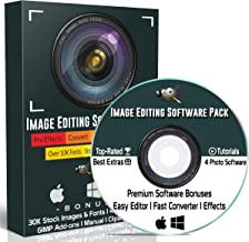 GIMP Photo Editing Software Professional for PC Windows & MAC / Linux | Best Picture Image Editor Photoshop Alternative + Image / Photo Converter Software, Effects & Bonuses (2.10 2019 Version)