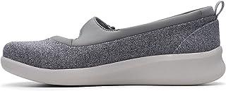 Clarks Slip On Shoe for Women, Size 5.5 UK, Grey