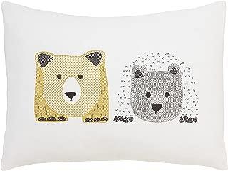 DwellStudio Cross Stitch Pillow (Bears)