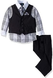 Steve Harvey Baby Boys Four Piece Vest Set