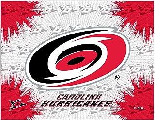 Holland Bar Stool Co. Carolina Hurricanes HBS Gray Red Hockey Wall Canvas Art Picture Print