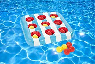 Inflatable 3 In A Row Floating Pool Game