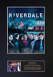 #816 Riverdale American Drama Series Signed Autograph Photo Reproduction Print A4 Rare Perfect Birthday (297 x 210mm) (Not Framed)