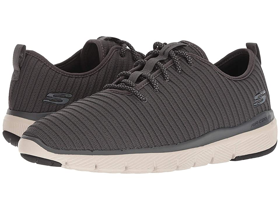 SKECHERS Flex Advantage 3.0 Turnely (Charcoal) Men
